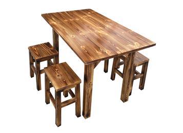钱柜娱乐官方网站【首页】_仿古炭烧木中餐厅方桌 饭店餐桌椅组