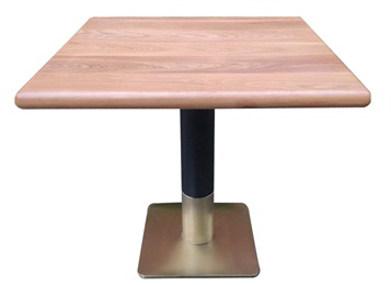 中餐厅家具实木餐桌_粤