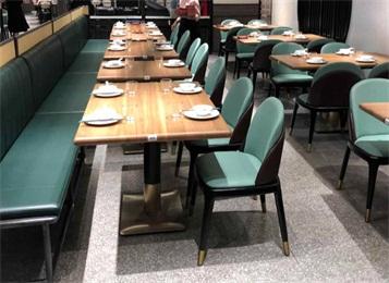 特色菜中餐厅包间桌椅_酒