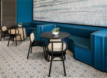 港式茶餐厅餐饮桌椅-深圳茶餐厅桌椅工厂