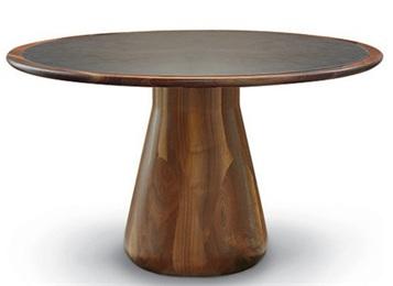 中餐厅优质简约实木圆桌