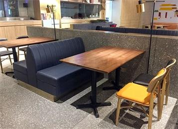 酸菜鱼餐厅实木桌椅_私