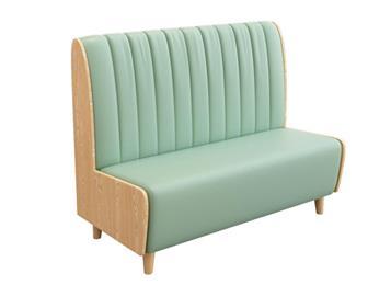 简约时尚网红风格主题餐厅卡座沙发