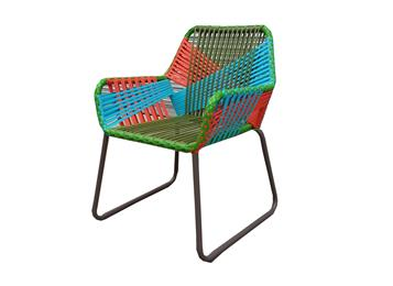 六边形户外椅子 定制编藤椅子