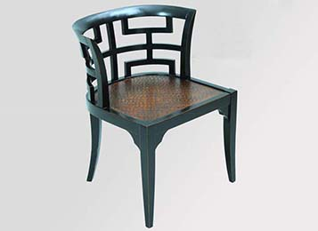现代中式椅子休闲椅