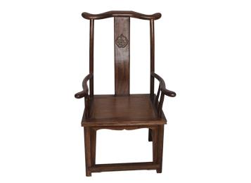 仿古明清中式古典家具 实木官帽椅
