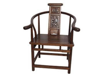 明清古典榆木太师椅 仿古实木椅 中式靠背扶手椅