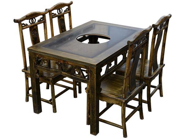 钱柜娱乐官方网站【首页】_明清复古雕花实木火锅桌椅组合