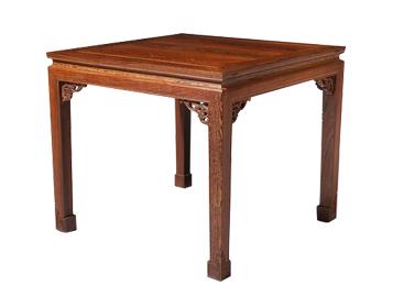 明清仿古实木家具 实木八仙桌