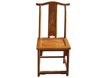 明清仿古中式餐椅 榆木管帽椅仿古靠背椅