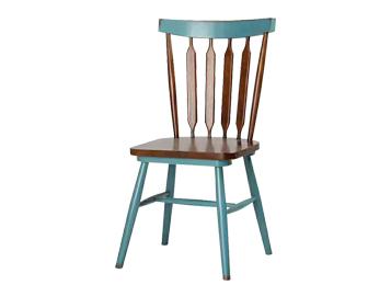 主题餐厅实木温莎椅