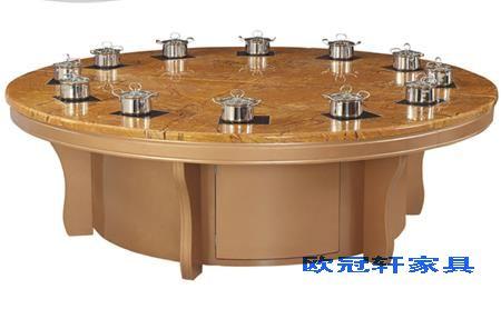 广州八人火锅餐桌多少钱一台?