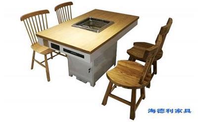 春节过后火锅店采购实木火锅桌要注意什么?