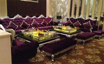 上海小酒吧沙发定制--海德利家具