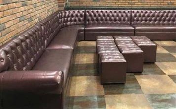 兰州酒吧沙发批发--海德利家具