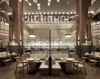 拾味馆餐厅空间设计