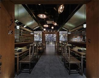 重庆火锅餐厅空间设计