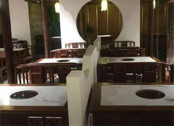 高捞庄餐厅火锅桌椅定做