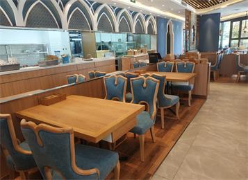 清真西北菜中发源餐厅桌