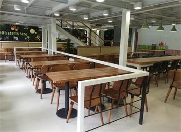 员工食堂餐厅桌椅定做