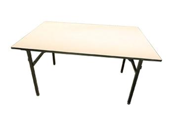 酒楼餐台 简易折叠长方台条桌