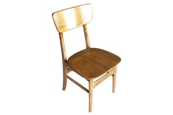酒店白橡木蝴蝶椅子靠背椅