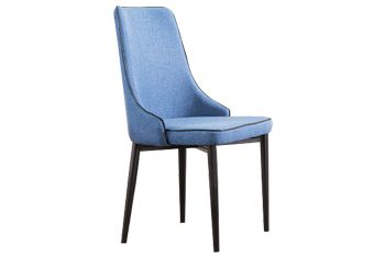 现代简约北欧风格软包实木餐椅