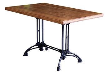 音乐餐厅实木家具酒吧酒馆铁艺桌
