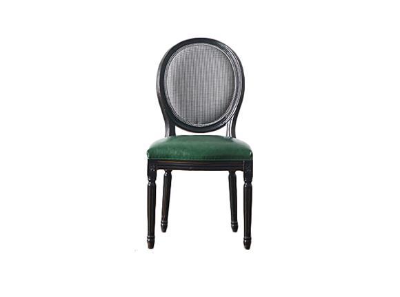 钱柜娱乐官方网站【首页】_北欧彩色布皮质复古实木餐椅