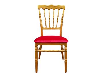 英伦古堡椅 金色软包竹节椅
