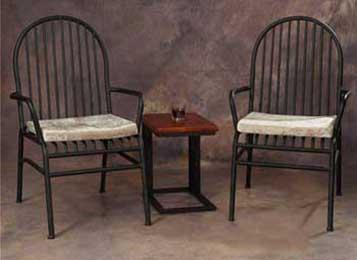 美式实木做旧复古吧台椅