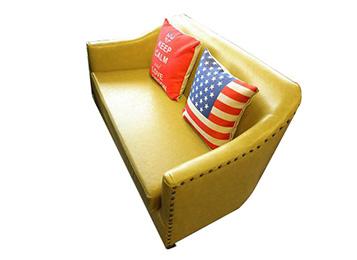 钱柜娱乐网站_咖啡厅复古休闲沙发卡座