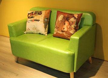 北欧咖啡厅沙发 休闲扶