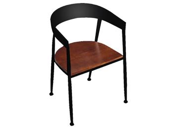 美式铁艺loft椅29