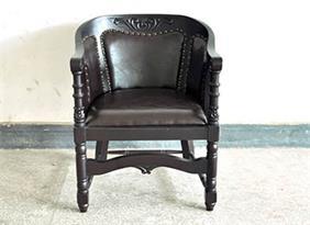美式乡村古董古典围椅