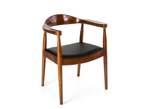 现代简约西餐实木椅-厂家定制