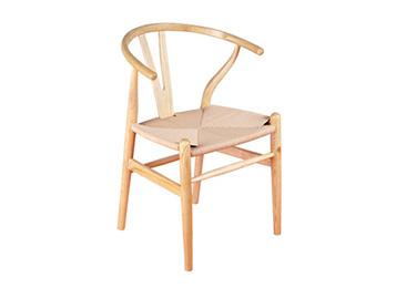 北欧进口实木Y型西餐椅西餐椅