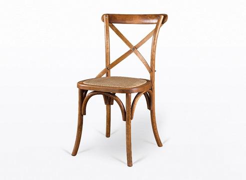 复古实木西餐椅  西餐厅专用椅