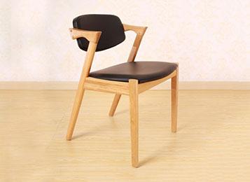 实木软包西餐椅 实木西餐桌椅套