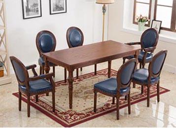钱柜娱乐网站,钱柜娱乐官方网站_实木西餐桌  西餐厅家具餐桌