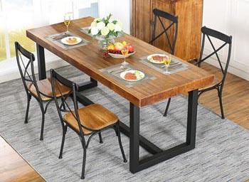 实木西餐桌 西餐桌订制厂家