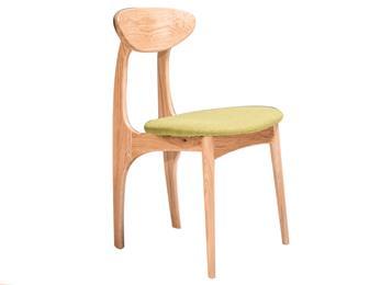 白橡木餐椅创意蝴蝶椅 现代简约实木椅子