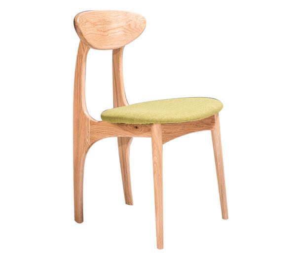 钱柜娱乐官方网站【首页】_白橡木餐椅创意蝴蝶椅 现代简约实木椅子