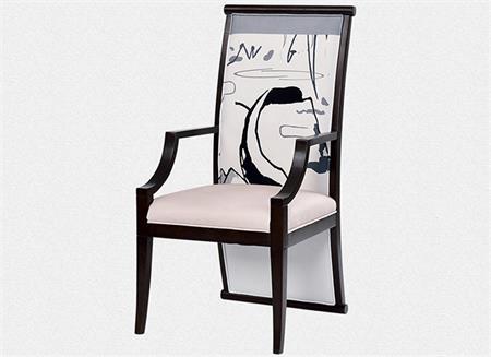 新中式实木餐椅简约现代中式椅子