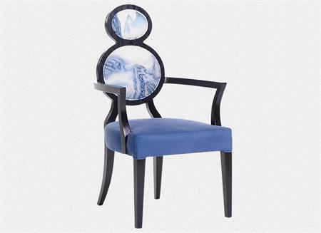 新中式葫芦餐椅古典椅子
