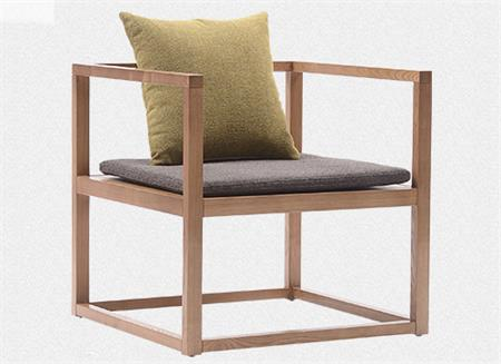 新中式禅意水曲柳实木餐桌椅