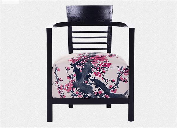 钱柜娱乐官方网站【首页】_ 新中式实木单人沙发简约现代休闲椅