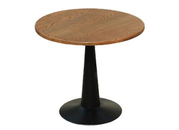 钱柜娱乐网站_老榆木铁艺圆桌实木圆形咖啡桌