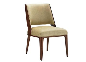 钱柜娱乐官方网站【首页】_美式布艺软包西餐厅餐椅