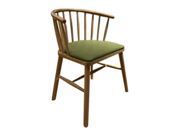 休闲实木温莎椅 咖啡餐
